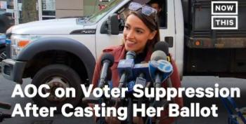AOC Waited 90 Minutes To Vote, And Came Out Swinging