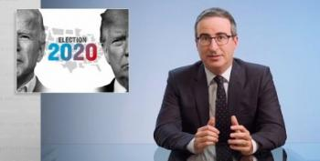 John Oliver: We Won't Have To Think About Him Once He's Gone
