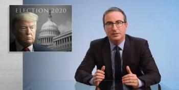 John Oliver: 'Trump Lost This Election, And He Knows It'