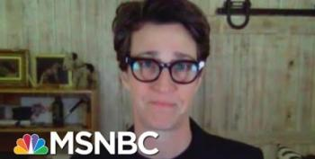 Rachel Maddow: 'Do Whatever You Have To Do To Keep From Getting This Thing'