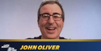 John Oliver On The Rockefeller Christmas Tree And Adam Driver