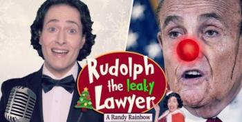 Randy Rainbow Stars In 'Rudy The Leaky Lawyer'!