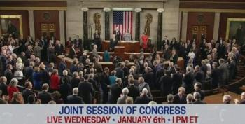 WATCH LIVE:  Joint Session Of Congress And Republican Coup Attempt (Updated)