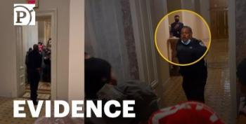 New Video Shows Tense Moments As Capitol Mob Sought Out Lawmakers: 'Where They Countin' The Votes?!'
