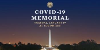 National COVID-19 Memorial With President-Elect Biden And VP-Elect Harris