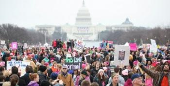Throwback Thursday:  Four Years Ago Today, The Women's March