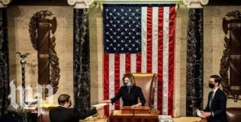 House Democrats Deliver Impeachment Articles To The Senate