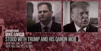 New Dem Ad Ties Qanon Sedition Around Republican Necks