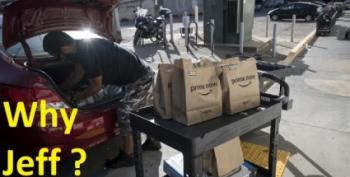 World's Second-Richest Man Was Stealing Tips From Amazon Delivery Workers