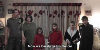 Family's Lockdown Parody Video Of 'Total Eclipse Of The Heart' Goes Viral
