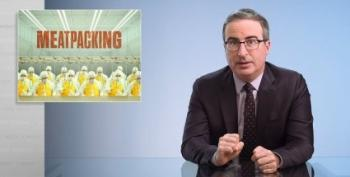 John Oliver Takes On The American Meatpacking Industry