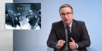 John Oliver Looks At Over-The-Top Police Raids -- And Their Consequences