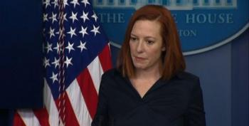 Reporter Asks Jen Psaki Why President Biden Won't Credit Trump Vaccine Plan