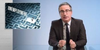 John Oliver Asks How The Unemployment System Got So Very, Very Bad