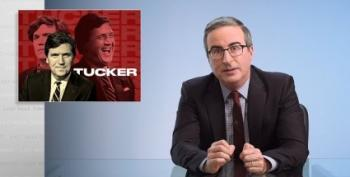 John Oliver Chews Up, Spits Out White Supremacist Tucker Carlson