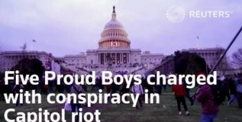 Four Proud Boys Indicted For Conspiracy In Capitol Attack