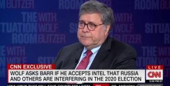 Bill Barr Lied About China Election Interference