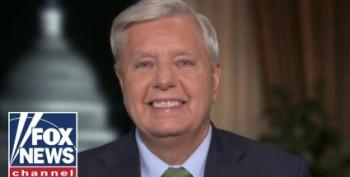 Go For It, Lindsey! Graham Says He'll Filibuster Voting Rights 'Until I Fall Over'