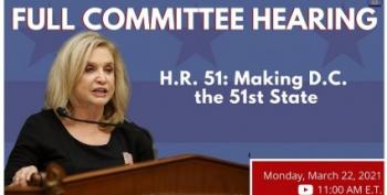 Congress Holds Hearing As 54% Support DC Statehood