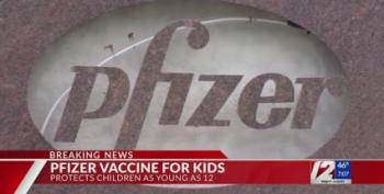 BREAKING: Pfizer Reports Vaccine 100% Effective For 12- To 15-Year-Olds