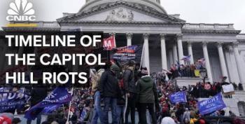 Reuters Poll: Half Of Republicans Still Blame Antifa For Capitol Hill Insurrection
