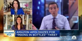 Caught: Amazon Admits Drivers Pee In Bottles