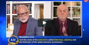 Wingnut Pastor Prophesies Alien Virus Threat