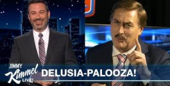 Pillow Guy Mike Lindell Is Obsessed With Jimmy Kimmel