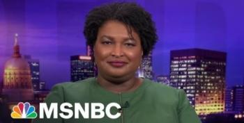 Stacey Abrams Blames 'Cowardice And Laziness' For Republican Voter Suppresssion