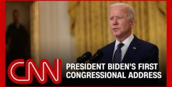 WATCH LIVE:  President Biden's First Address To Congress