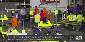 Thanks Cyber Ninjas! AZ Taxpayers Must Now Buy New Voting Machines