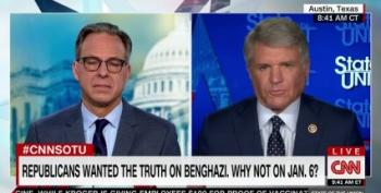GOP Rep. McCaul Reads Talking Points Defending Benghazi Hypocrisy