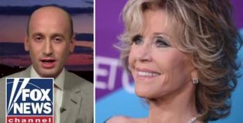 Stephen Miller's Fascist Mouth Tries To Take On Joy Reid, Jane Fonda