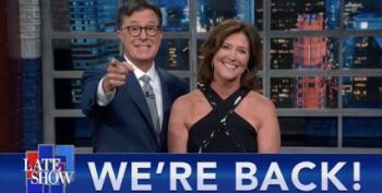 Colbert Is Back On Broadway!  With Jon Stewart! And Joe Biden?