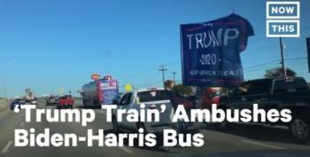 Dems Sue Over 'Trump Train' Road Harassment