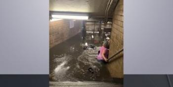 Manhattan's Flooded Subways Point (Again) To Climate Emergency