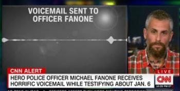 LISTEN: Obscene Voicemail Sent To Officer Fanone As He Testified