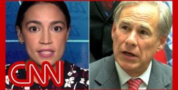 AOC Calls Out Greg Abbott's 'Disgusting' Rape Comments