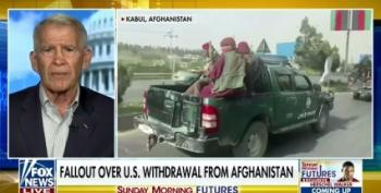 Fox News Trots Out Ollie North To Complain About Taliban Getting U.S. Weapons