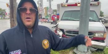 Aww, The Giant 'Trump Bridge' Sign Crashed