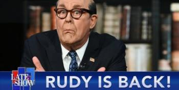 John Lithgow As Rudy Giuliani Is Our Favorite Thing Today
