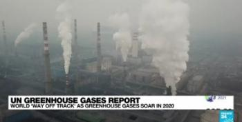 WHOOPEE! UN Says Greenhouse Gases Set New Record Last Year