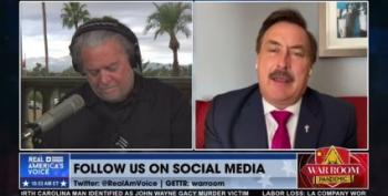 Even Steve Bannon Doesn't Believe Mike Lindell's Election 'Fantasy'