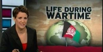 Maddow On McChrystal's Leaked Afghanistan Memos