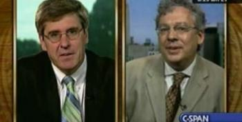 Stephen Moore Claims He's Never Seen Any Guns Or Swastikas At The Tea Bag Protests