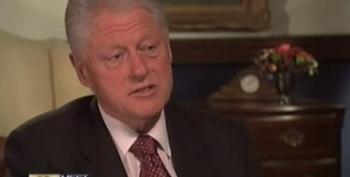 Clinton: Vast, Right-wing Conspiracy Now Targeting Obama
