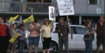 The Beck Rally And Protest In Mount Vernon: Obama Is 'Definitely' A Racist