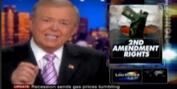 Lou Dobbs Fearmongers On Gun Rights