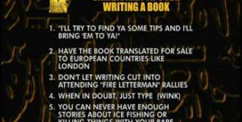 Top Ten Sarah Palin Tips For Writing A Book