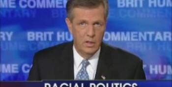 Fox News: Brit Hume Vs Glenn Beck On Rasicm